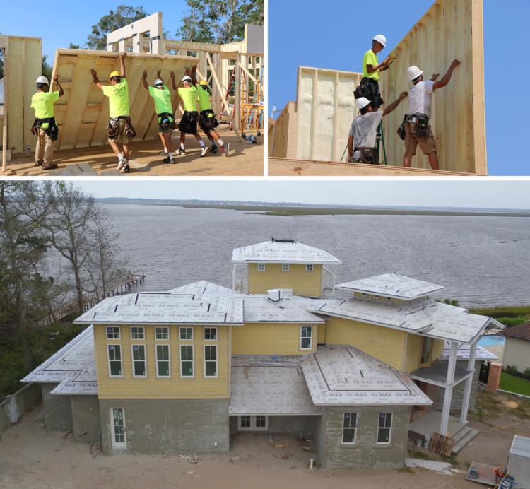 Uma nova geração de painéis para casas oferece uma solução eficiente em energia para arquitetos e construtores. Imagem Cortesia de Covestro