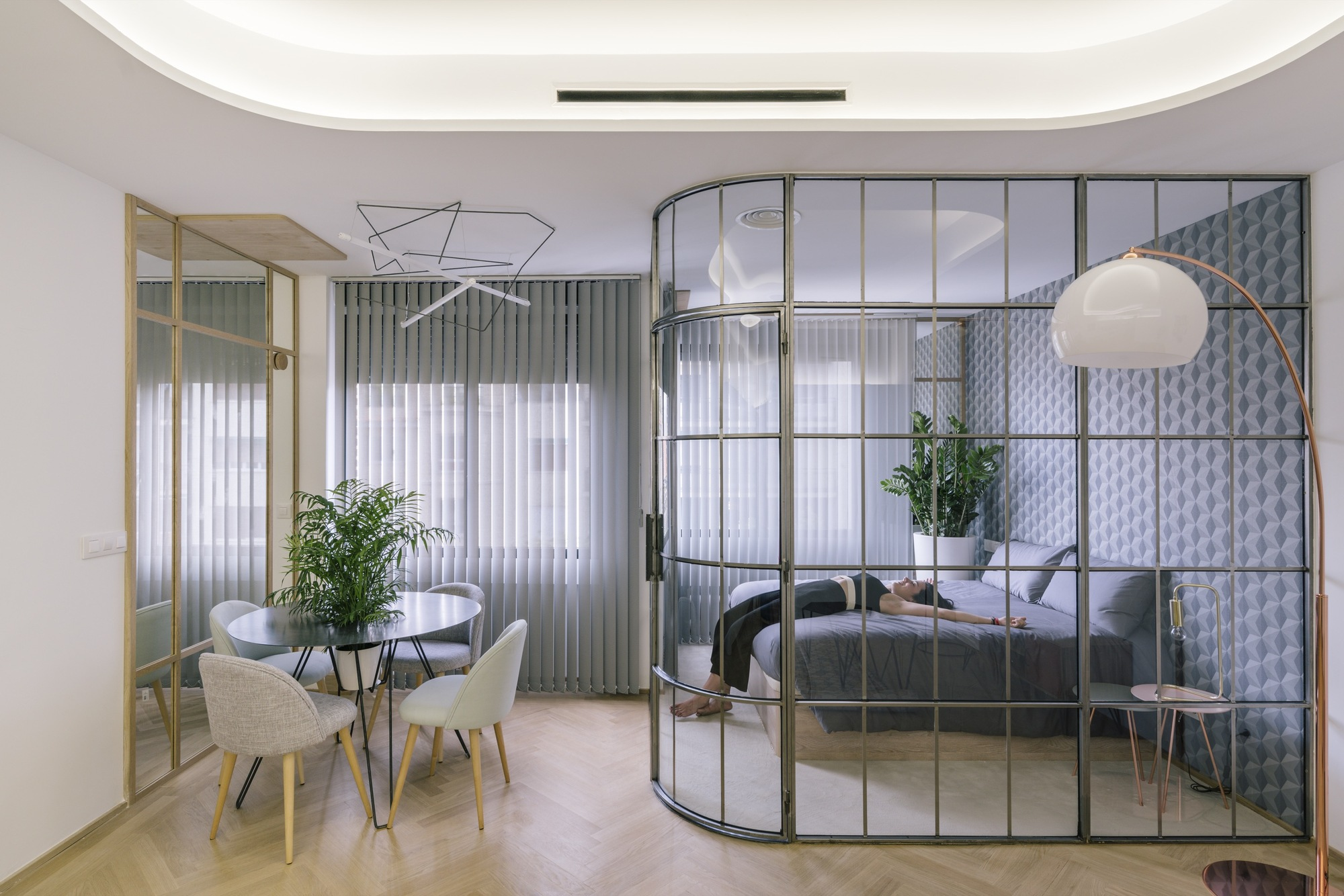 Gallery of Three Apartments in Madrid / Fast and Furious ...