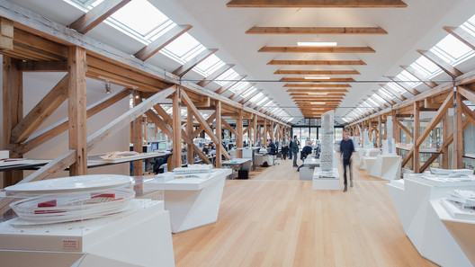 The <a href='https://www.archdaily.com/782154/look-inside-a-selection-of-danish-finnish-norwegian-and-swedish-architecture-offices-photographed-by-marc-goodwin'>office of 3XN in Copenhagen, Denmark</a>. Image © Marc Goodwin