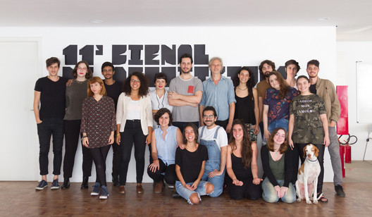 11th Sao Paulo Architecture Biennial Team. Image © FLAGRANTE / Romullo Fontenelle