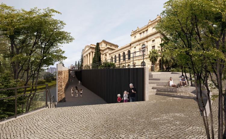 2º lugar no concurso para o Museu Paulista, por Pires Giovanetti e Guardia + Metropole Arquitetos, Cortesia de Pires Giovanetti e Guardia + Metropole Arquitetos