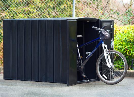 Bike Lockers | Reliance Foundry. Image Courtesy of Reliance Foundry