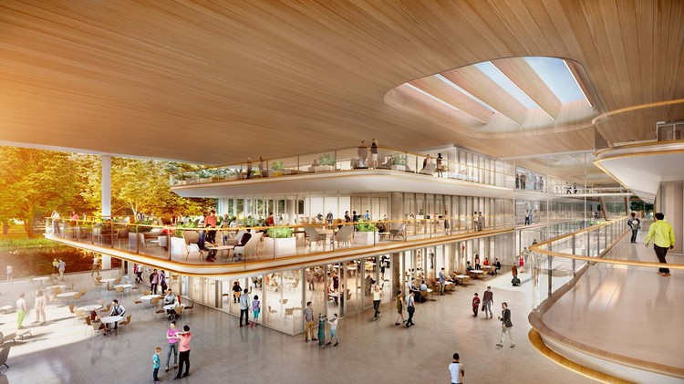 Foster + Partners Designs Lakeside Headquarters for the PGA Tour, © Foster + Partners