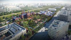 BIG Reveals Updated Vision for Smithsonian Campus Master Plan Scheme