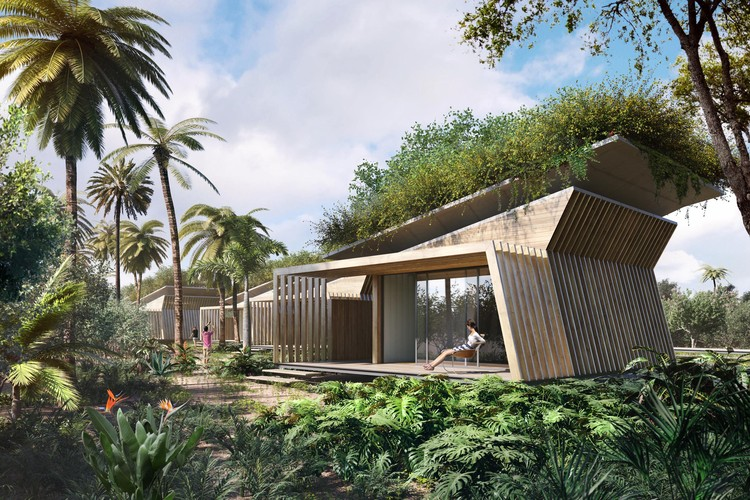 Aprendendo com a natureza: conheça o projeto do Votu Hotel, Cortesia de GCP Arquitetura & Urbanismo