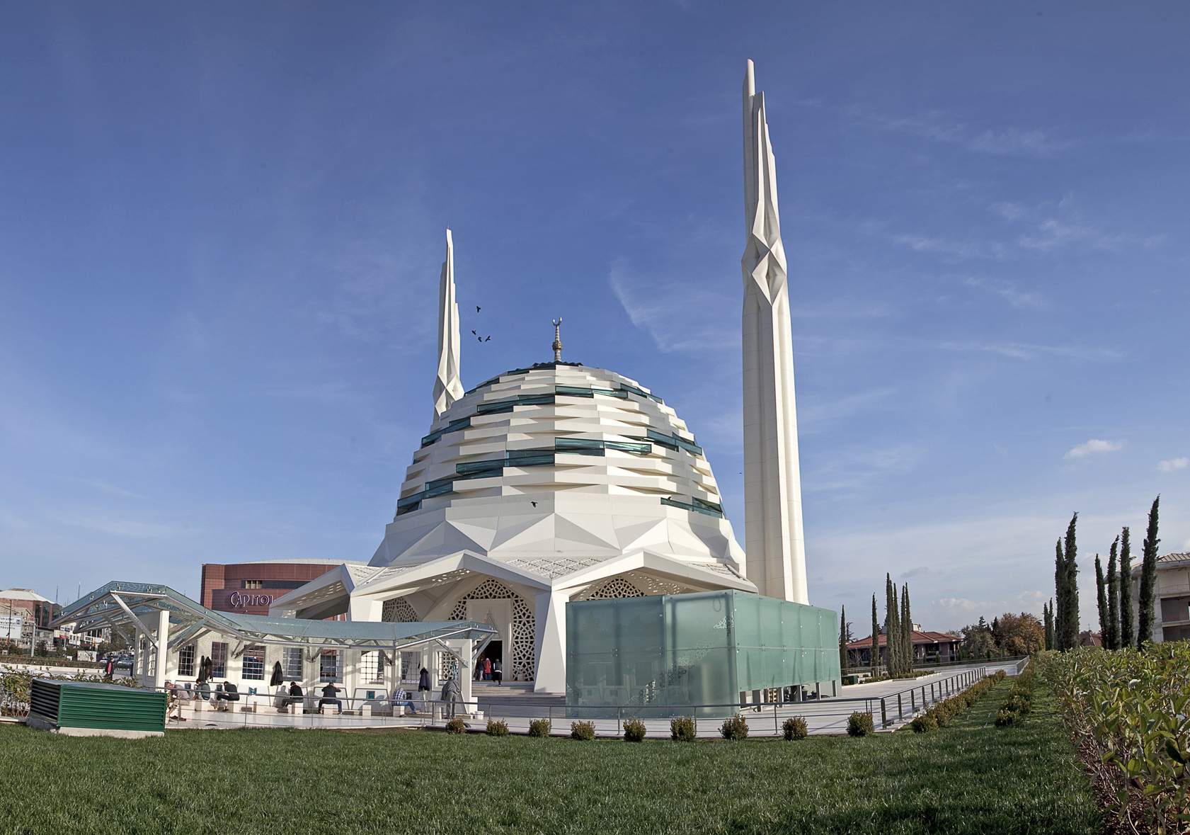 Marmara University Faculty Of Theology Mosque / Hassa Architec.