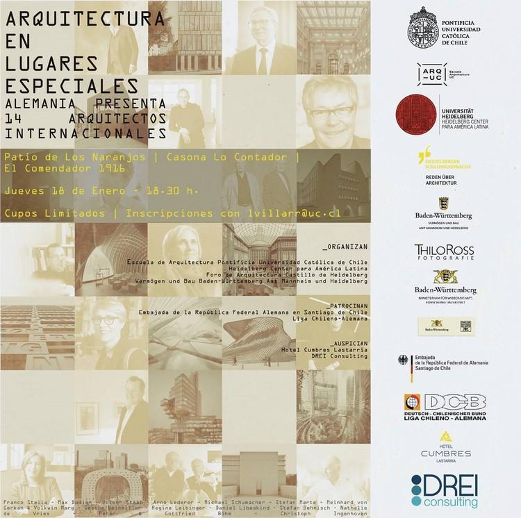 Muestra 'Arquitectura en lugares especiales'
