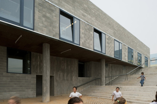 Colegio Leça do Balio / aNC arquitectos. Image © Daniel Malhão