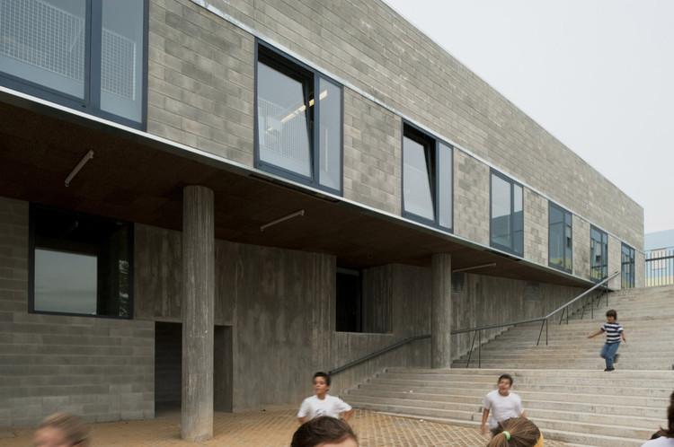 Teresa Novais: la riqueza de los límites y los medios técnicos, Colegio Leça do Balio / aNC arquitectos. Image © Daniel Malhão