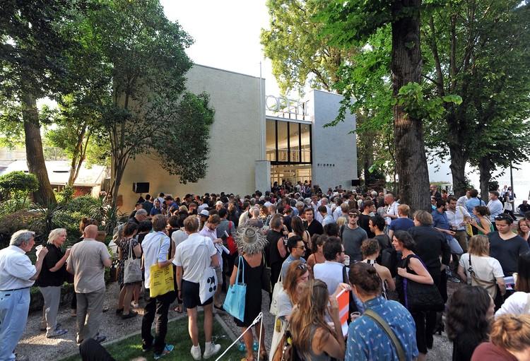 Call for Submissions: Outside the Box / Opening International Architecture Exhibition of La Biennale di Venezia, Opening Dutch pavillion in 2014_Photo Simone Ferraro