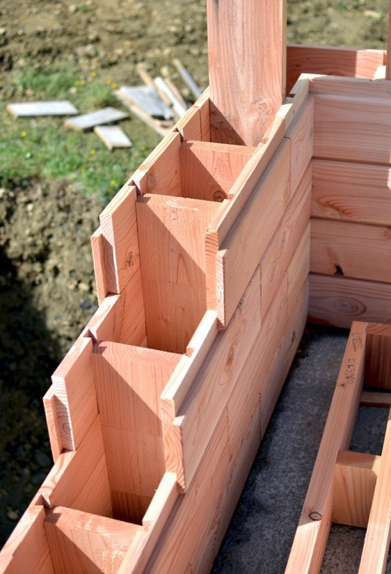 Gallery of Innovative 'Wooden Bricks' System Cuts Building Time to