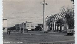 Intervención urbana con fotografías patrimoniales conmemora terremoto de 1939 en Chillán