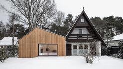 Altneuhaus – Extension of a Holiday Home / Roland Unterbusch Architekt