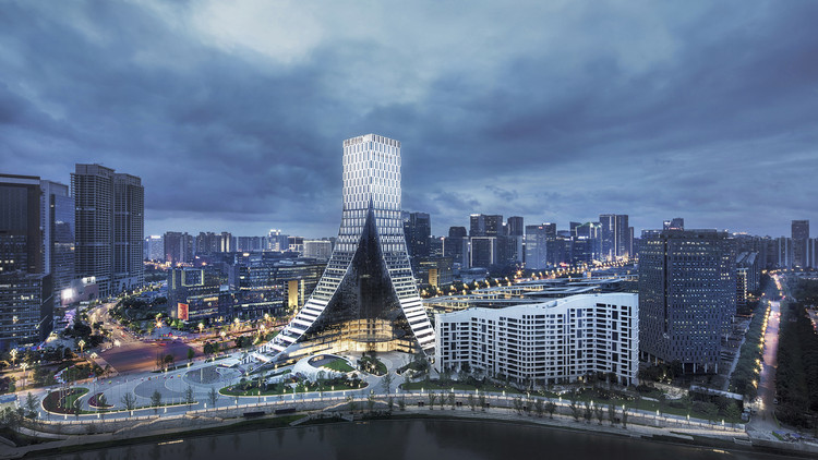 Chengdu ICON Yunduan / PES-Architects, © Zhewei Su