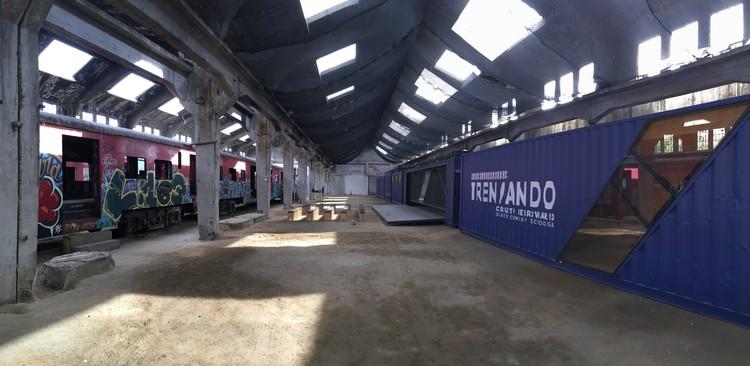 """Conheça o """"Trenzando"""", um centro cultural itinerante que pretende resgatar a rede ferroviária chilena, © Fundación ACTO"""