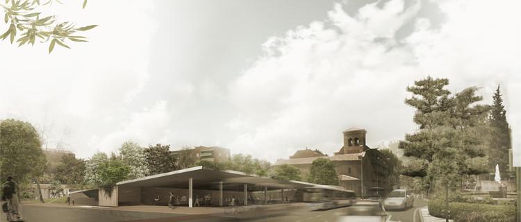 Conoce el proyecto ganador de la remodelación de la Plaza de los Misterios en Madrid, Cortesía de Equipo Primer Lugar