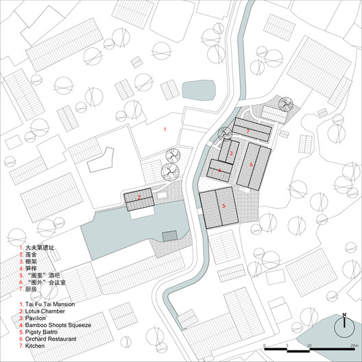 Site plan of Tai Fu Tai Area