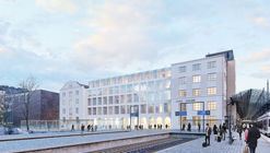 Futudesign Wins Competition to Transform Saarinen's Railway Station Into Hotel
