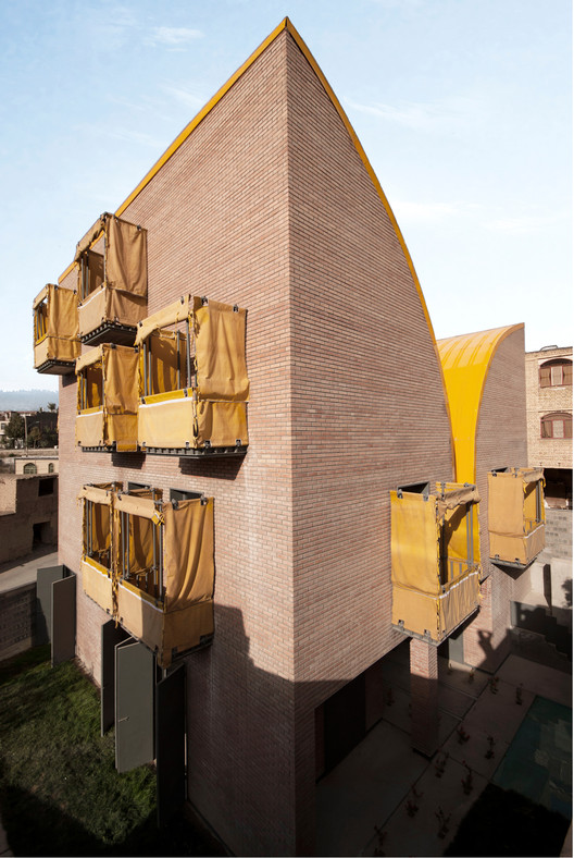 Habitat for Orphan Girls / ZAV Architects, © Aidin Gilandoost