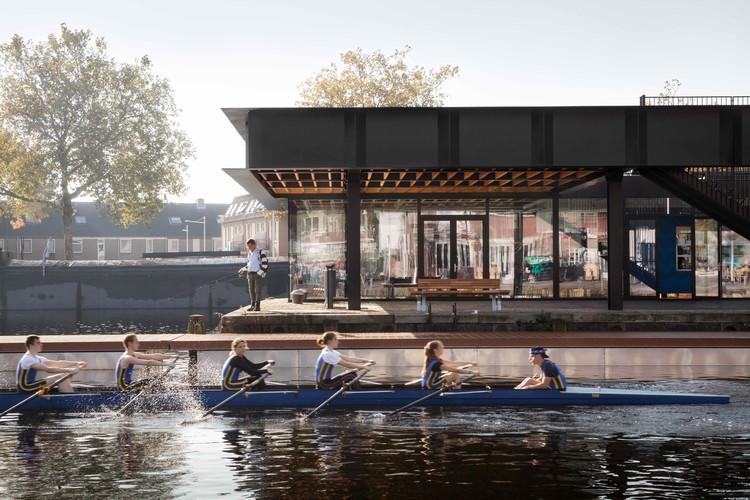 Piushaven Harbour Pavilion / Civic Architects, © Stijn Bollaert