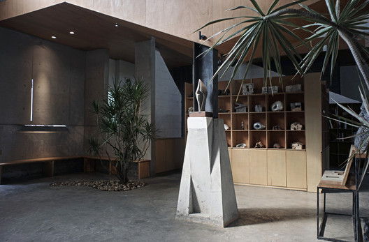 The Relationship between column and space. Image Courtesy of CAL Architects