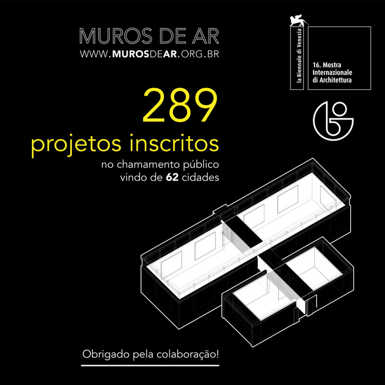 289 Projetos inscritos na chamada do pavilhão do Brasil na Bienal de Veneza, Cortesia do Pavilhão do Brasil