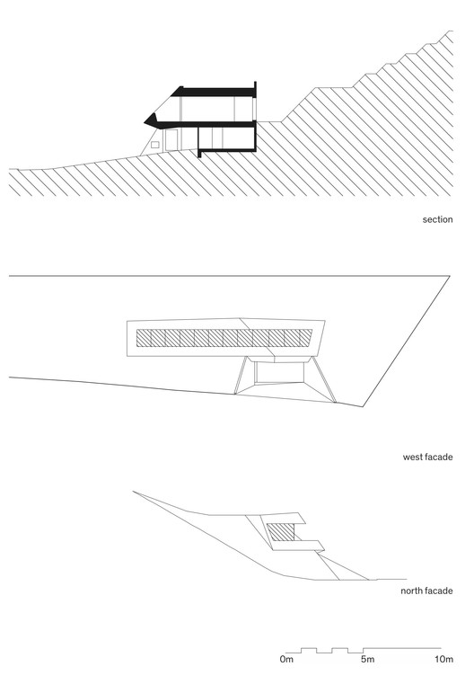 Section and Elevations