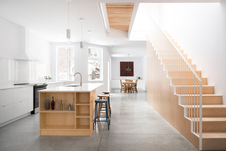 Rivard House / L'Abri, © Jack Jérôme
