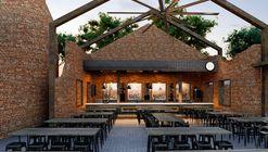 Bar del Parque La Ruina  / Tamen Arquitectura