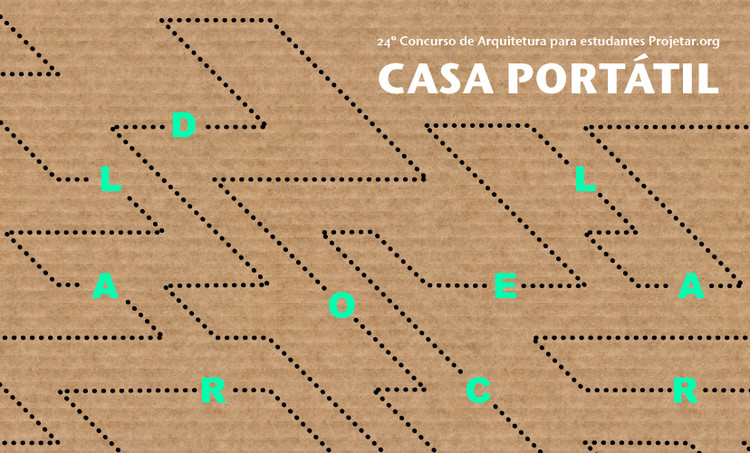 Abrigo portátil para desabrigados é tema do 24º concurso de arquitetura Projetar.org