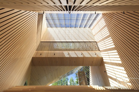 Audain Art Museum (Whistler, British Columbia) / Patkau Architects. Image Courtesy of Wood Design & Building Awards