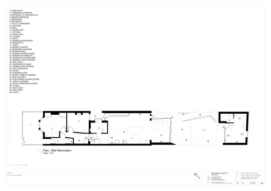 Plan - After Renovation