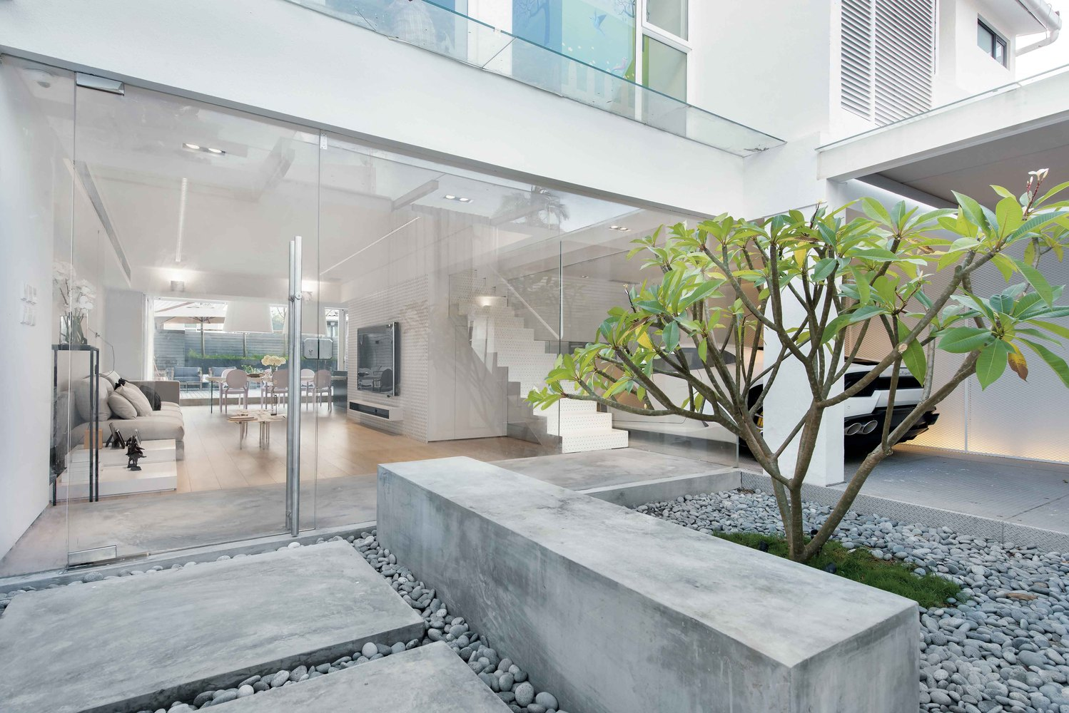 House In Hong Kong,Courtesy Of Millimeter Interior Design
