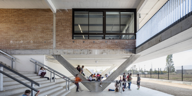 Montserrat Vayreda School / BAAS Arquitectura, © Adrià Goula