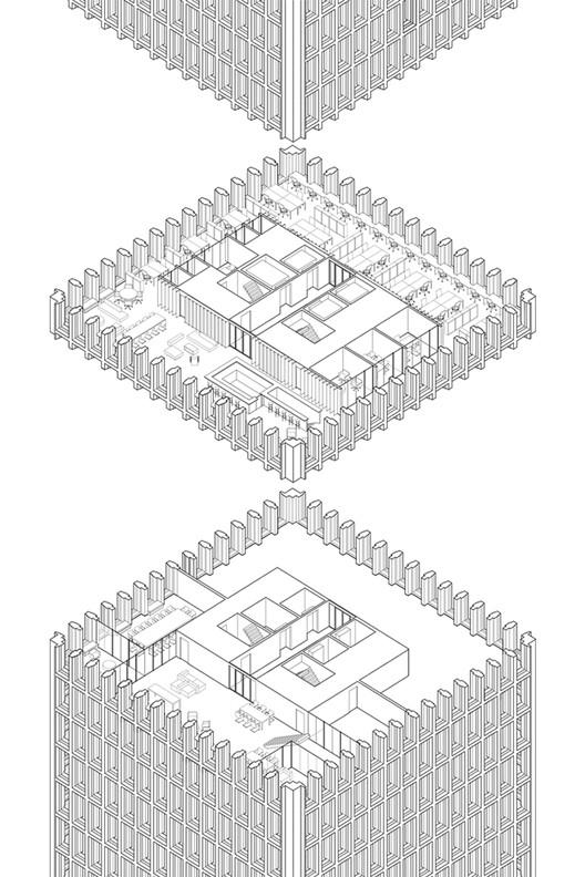 Sony's Office Isometric