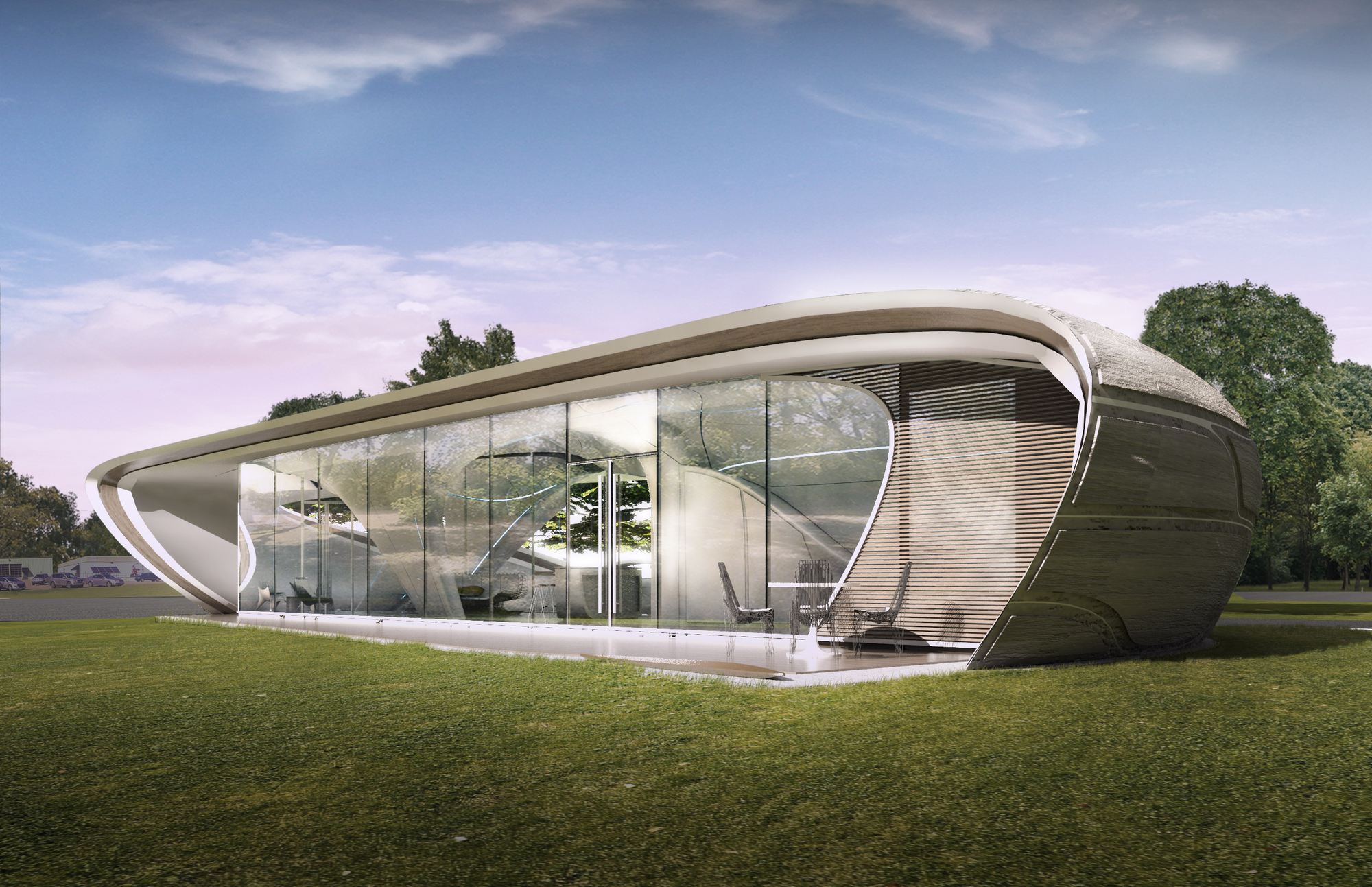 The worlds first freeform 3d printed house enters development phase courtesy of watg urban