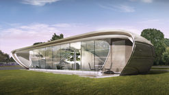 The World's First Freeform 3D-Printed House Enters Development Phase
