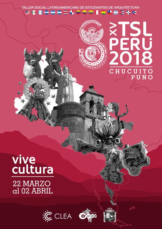 XV Taller Social Latinoamericano de Estudiantes de Arquitectura en Puno, Perú, Cortesía de TSL