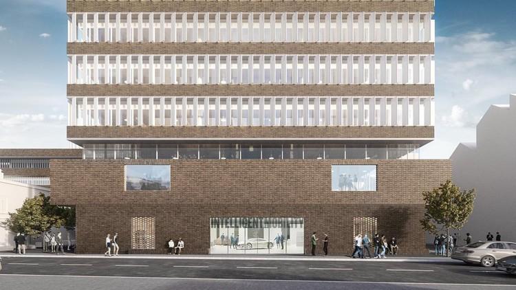 Herzog & de Meuron's Royal College of Art Flagship Building Receives Planning Approval, © Herzog & de Meuron