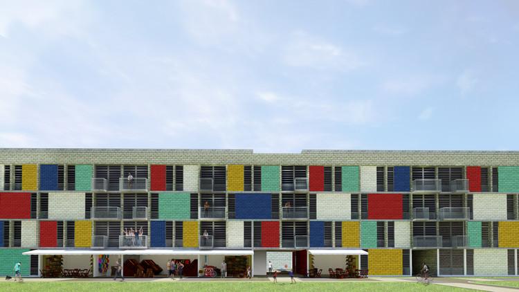 Um novo desenho urbano pode melhorar a qualidade de vida nos conjuntos habitacionais?, Cortesia de Marco Suassuna