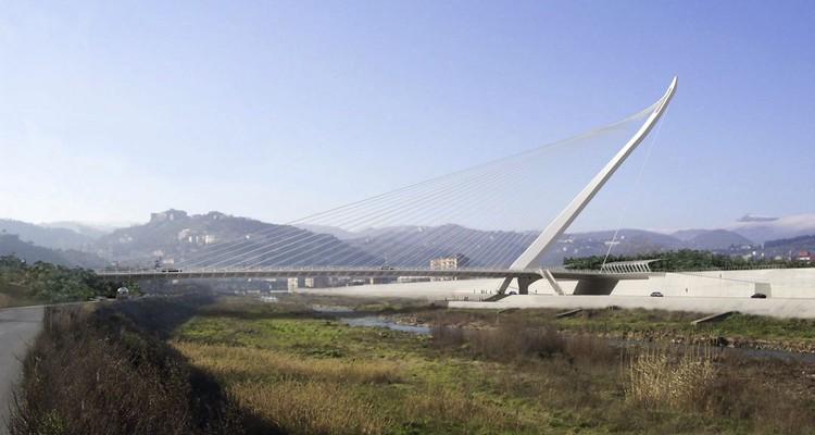 Italia inaugura nuevo puente diseñado por Santiago Calatrava, Rénder. Image Cortesía de Santiago Calatrava Architects & Engineers