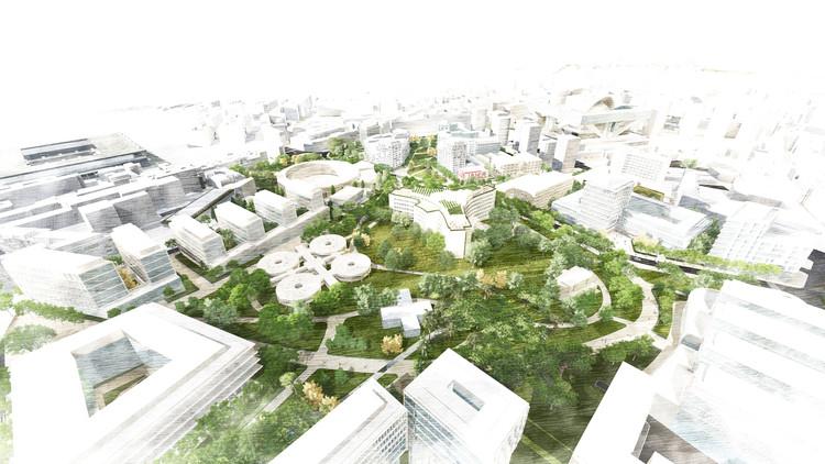 Hucamp el proyecto ganador que transformar el antiguo hospital central de asturias en oviedo - Arquitectos en oviedo ...