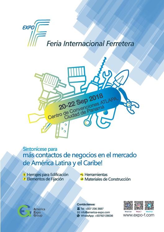 Expo F 2018, la Feria Internacional de Material de Construcción y Herramientas de Panamá