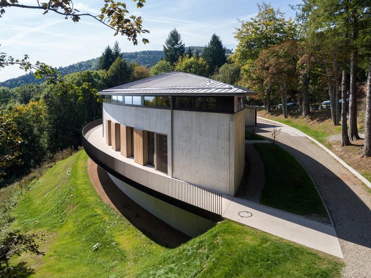 Hartmannswillerkopf Franco-German Historial / INCA Architectes, © Nicolas Castes