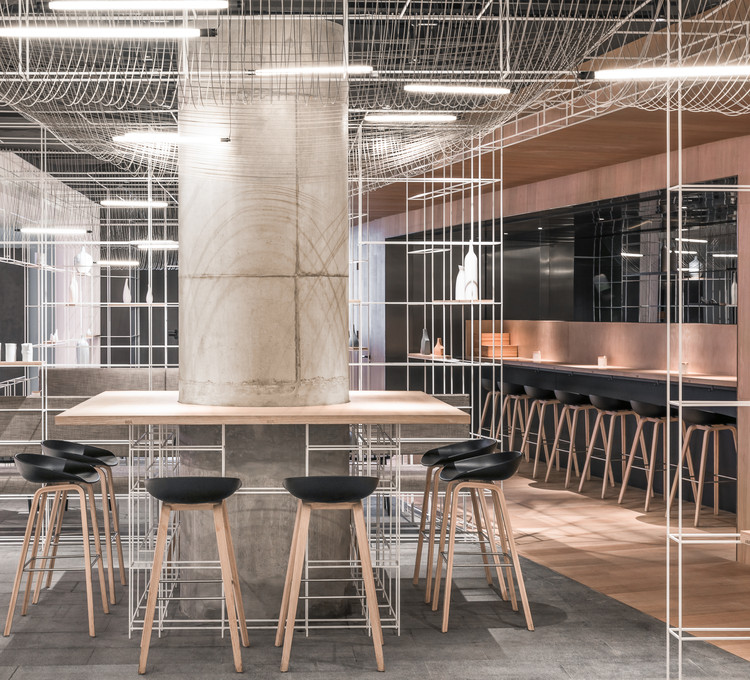 LXBShanghai Diner LUKSTUDIO ArchDaily
