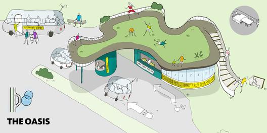 Reebok e Gensler se unem para transformar postos de gasolina em centros de ginástica