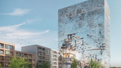"MVRDV Design ""Crystal-Rock"" Facade for Mixed-Use Building in Esslingen"