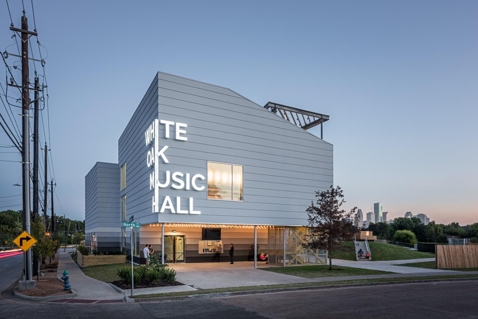 White Oak Music Hall Schaum Shieh Archdaily