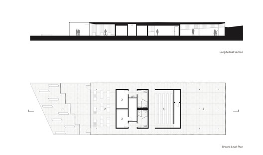 Section and Ground Floor Plan