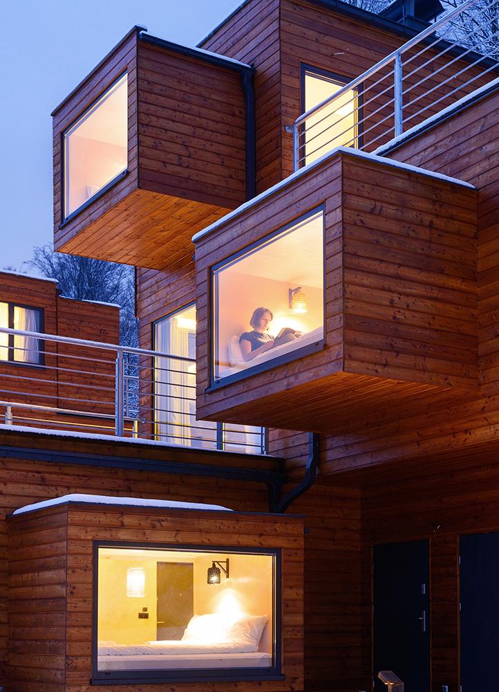Szuflandia Apartments Brandys Design Modern House Poland 2016